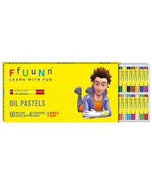 FfUuNn Oil Pastels - Pack of 25 Shades