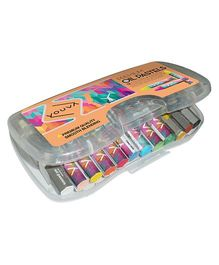 Youva Premium Oil Pastels - Pack of 12 Shades