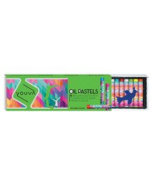 Youva Oil Pastels - Pack of 25 Shades