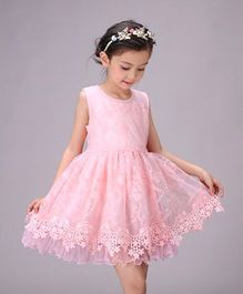Tickles 4 U Lace & Tutu Dress - Pink