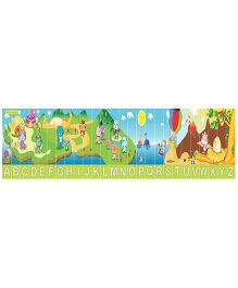 Learners Play Stretchable Alphabet Uppercase Puzzle With Storage Box - 26 Pieces
