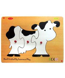 Learners Play Cow Knob Puzzle Multicolor - 3 Pieces