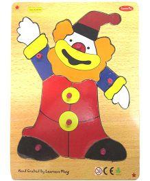 Learners Play Happy Joker Knob Puzzle Multicolor - 7 Pieces