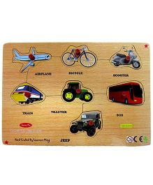 Learners Play Transport Puzzle Multicolor - 7 Pieces