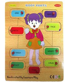 Learners Play Body Parts Puzzle - Multicolor