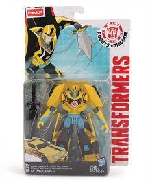 Transformers Robots In Disguise Titan Guardians Bumblebee Figure Yellow - Height 12 cm