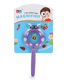 Hamleys Magnifier Glass With Handle Purple - 15 cm