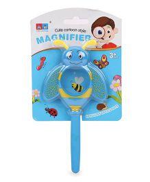 Comdaq Magnifier Glass With Handle Blue - 15 cm
