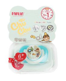 Farlin Chu Chu Pacifier Medium - Blue