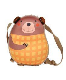 Farlin Bear Kids Backpack Yellow - 12 Inches