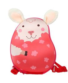 Farlin Rabbit Kids Backpack Red - 12 Inches