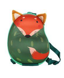 Farlin Fox Kids Backpack Green - 12 Inches