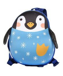 Farlin Penguin Kids Backpack Blue - 12 Inches
