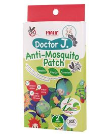 Farlin Doctor J Anti Mosquito Patch With Citronella Lemon & Eucalyptus BCK 003 - Pack Of 12