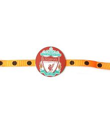 Thought Counts Football Club Rakhi - Red