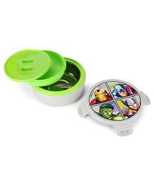 Marvel Avengers Round Lunch Box - Grey
