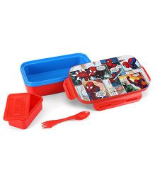 Marvel Spider Man Lunch Box - Red And Blue
