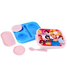 Disney Cinderella Lunch Box - Pink And Blue