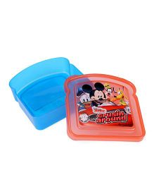 Disney Mickey Mouse Lunch Box - Red And Blue