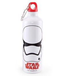 Disney Star Wars Metal Sipper Bottle White - 750 ml