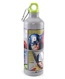 Marvel Avengers Metal Sipper Bottle Grey - 750 ml