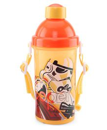 Disney Star Wars Sipper Bottle Yellow - 500 ml