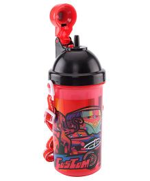 Disney Pixar Cars Sipper Bottle Red - 500 ml