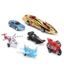 Karma My Pull Back Garage Toy Set - Multicolor