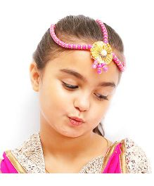 D'chica Ethnic Headgear Jewellery - Pink