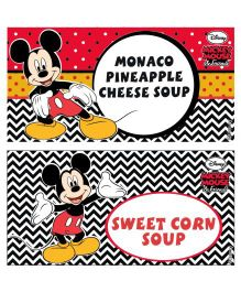 Disney Mickey Mouse Food Labels - Pack of 10