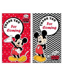 Disney Mickey Mouse Thankyou Cards - Pack of 10