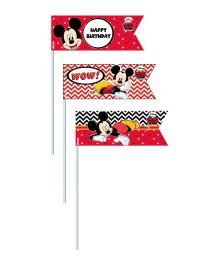 Disney Mickey Mouse Picks - Pack of 20
