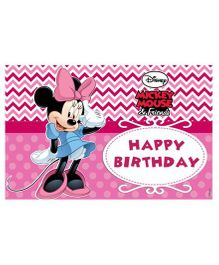 Disney Minnie Mouse Table Mats - Pack of 6
