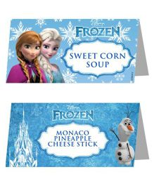 Disney Frozen Food Labels - Pack of 10