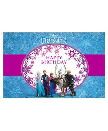 Disney Frozen Table Mat Blue - Pack of 10