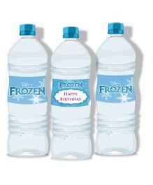 Disney Frozen Water Bottle Labels - Pack of 10