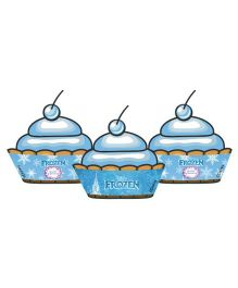 Disney Frozen Cupcake Wrappers Blue - Pack of 10