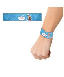 Disney Frozen Wrist Bands Blue - Pack of 10