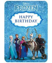Disney Frozen Centrepiece - Blue