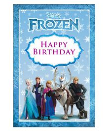 Disney Frozen Vertical Banner 01 - Blue