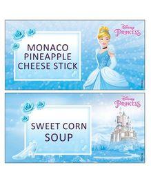 Disney Cinderella Food Labels - Pack of 10