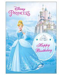 Disney Cinderella Centrepiece - Blue