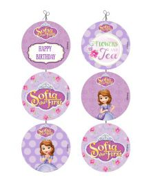 Disney Sofia The First Enchanted Garden Party Danglers - Purple
