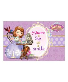 Disney Sofia The First Enchanted Garden Party Table Mats - Pack of 10