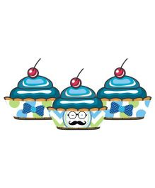 Prettyurparty Little Man Theme Cupcake Wrappers