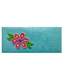 Creative Hand Quilling Shagun Envelopes - Sky Blue