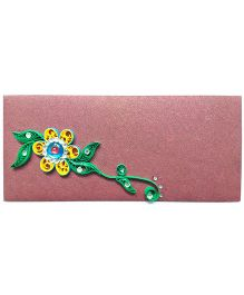 Creative Hand Quilling Shagun Envelopes - Maroon