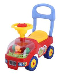 Magic Pitara Four Wheel Drive Ride On Car - Red