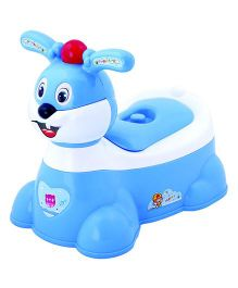 Magic Pitara Rabbit Faced Baby Potty Seat - Blue