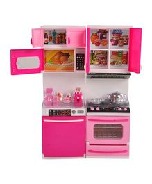 Magic Pitara Modern Kitchen Play Set - Pink